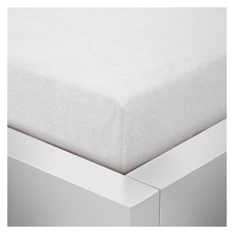 Froté prostěradlo 140x200 /25cm - bílé