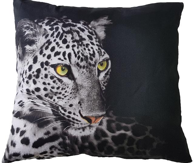 Povlak s motivem 3D - Jaguar 45x45