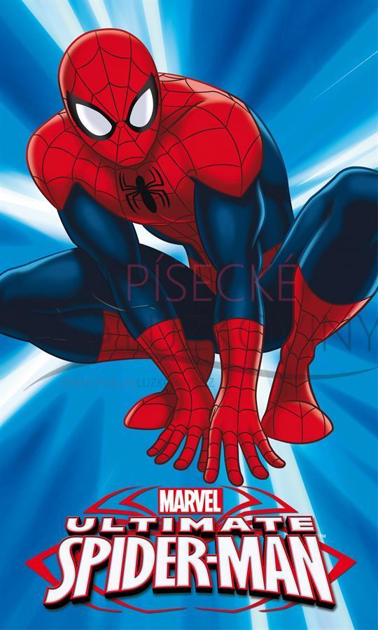 Dětský froté ručník 30x50 - SPIDERMAN