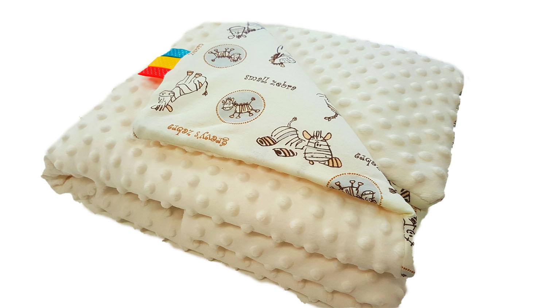 Dětská deka MINKY - krémová