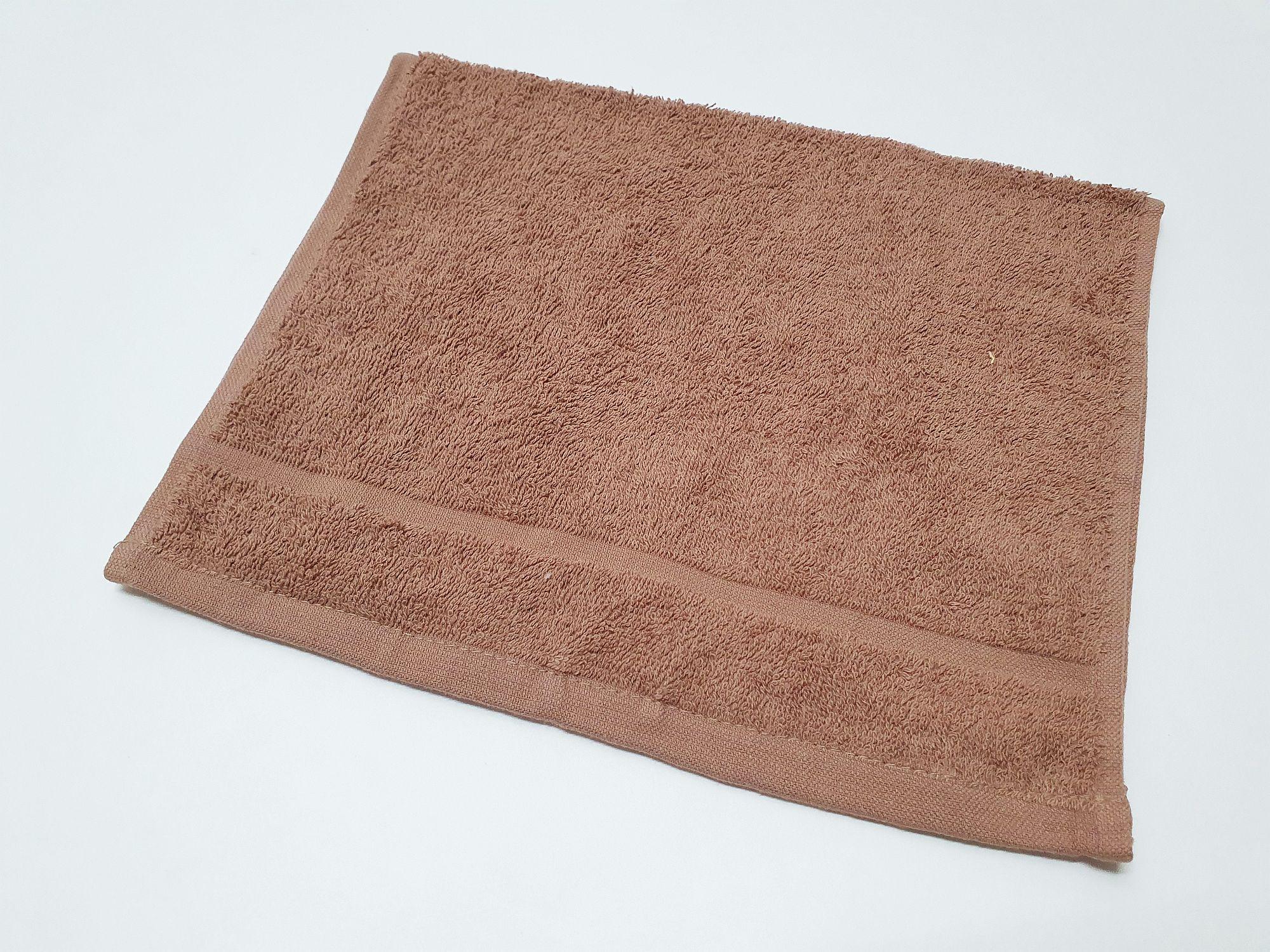 Froté ručník 30x50 - Šedohnědý