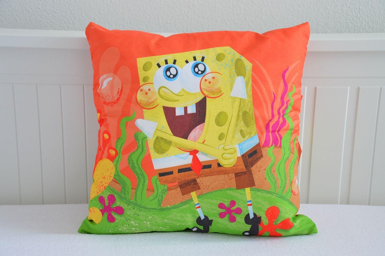 Sada polštářek s licenčním povláčkem Spongebob - 40x40