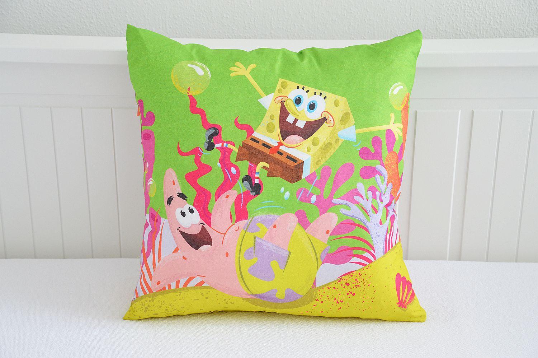 Licenční povlak s motivem SpongeBob a Patrick - 40x40