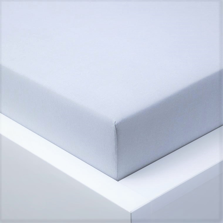 Jersey prostěradlo  LYCRA 180x200 / 25cm - šedé