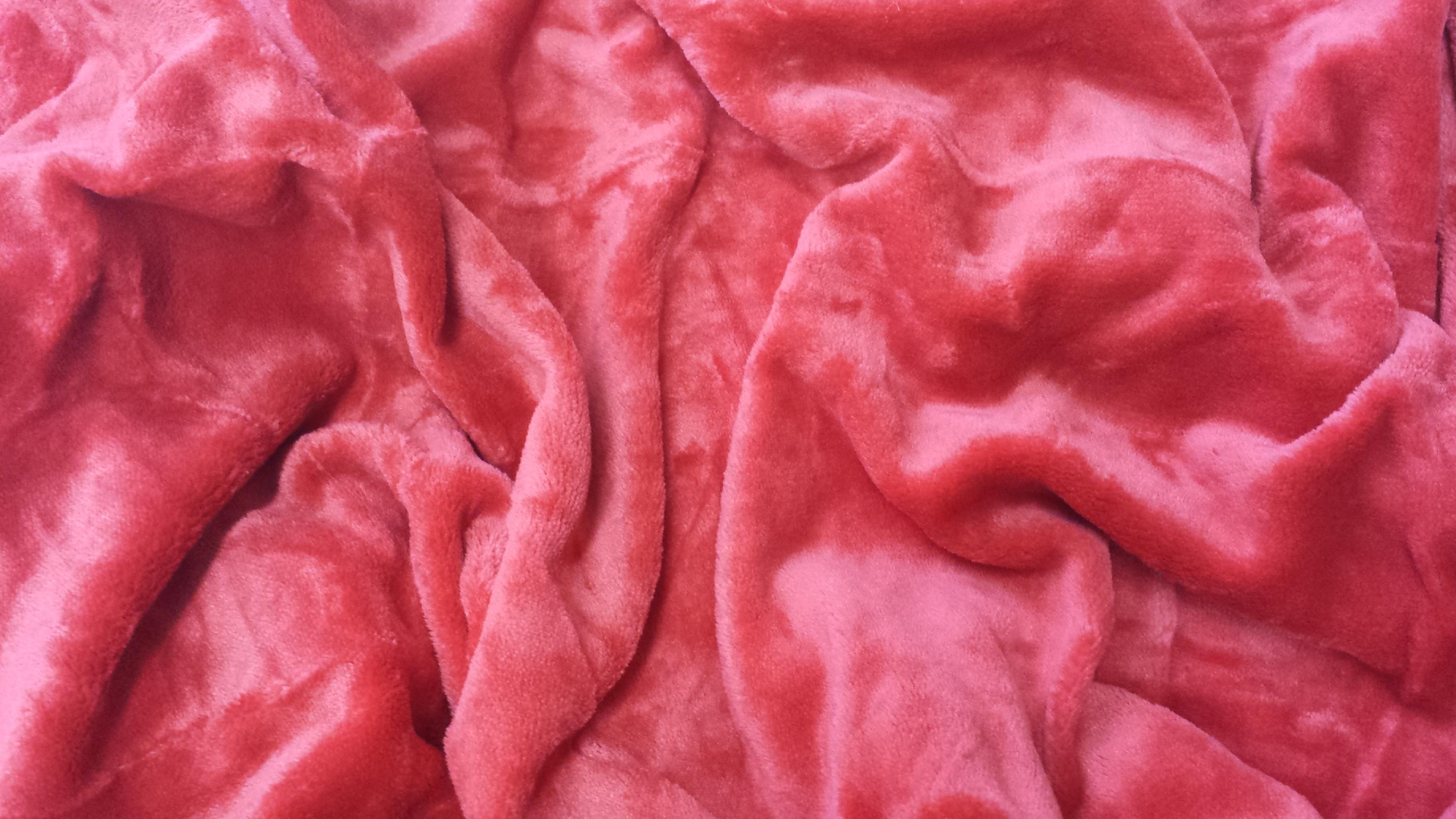 Mikroflanel prostěradlo 180x200 - tmavě červené