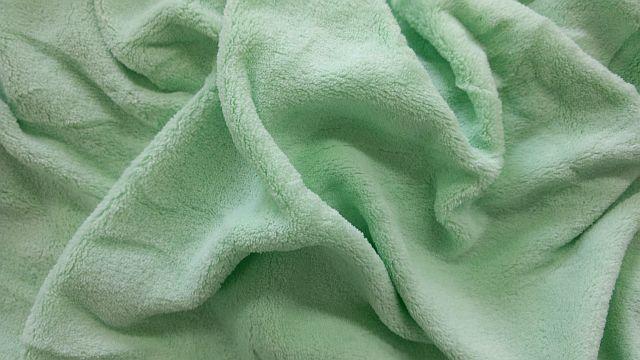 Mikroflanel prostěradlo 90x200 - zelené