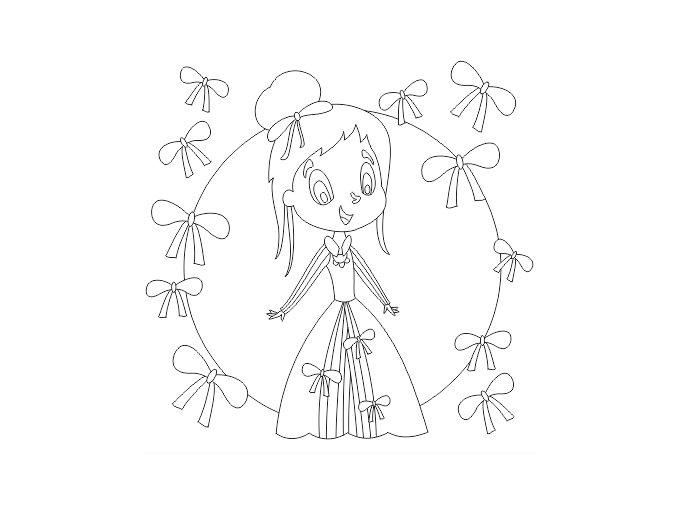 Princezna s mašlemi