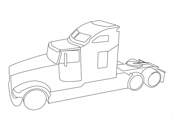 Šablona Kamion