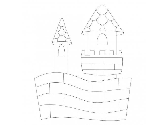 Šablona Hrad 2