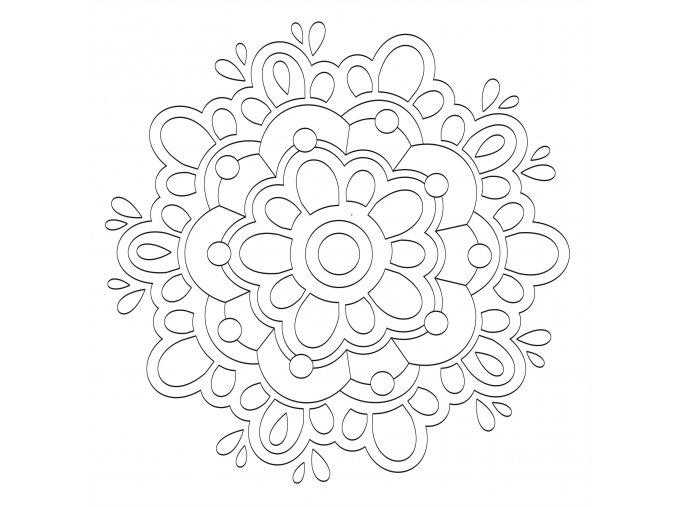 Šablona Mandala 0535