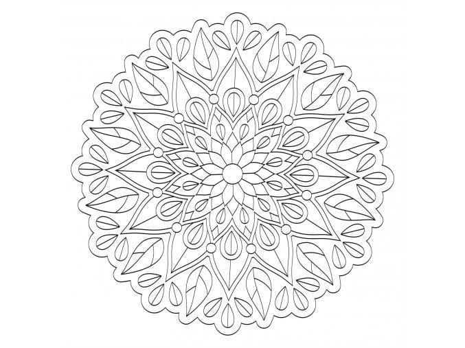 Šablona Mandala 0538