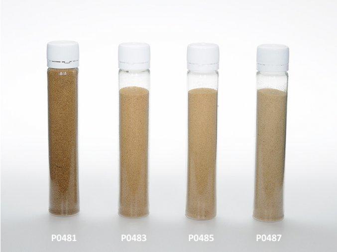 Barevný písek - hnědá barva