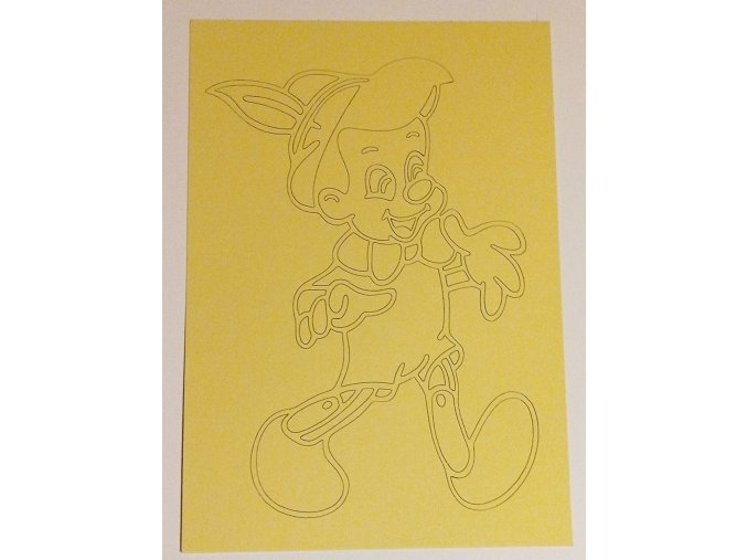 Šablona Pinocchio