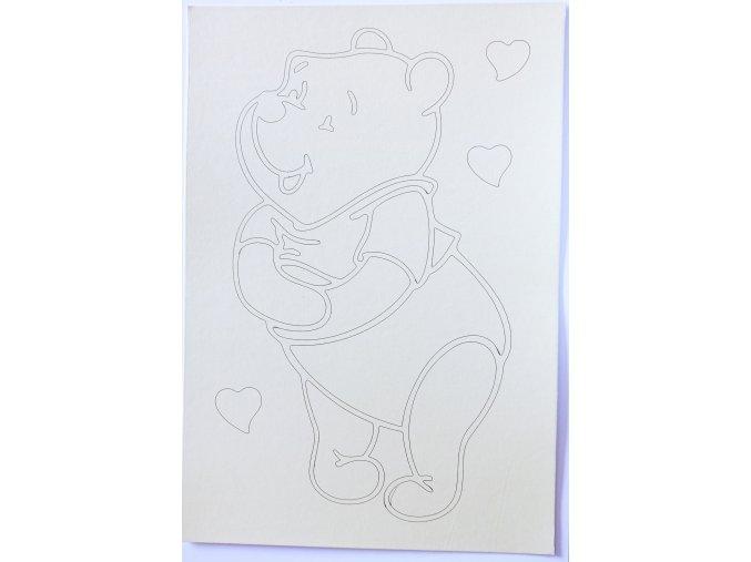 Šablona Medvídek PÚ 8