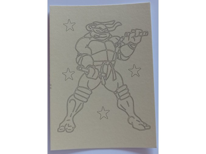 Šablona Želvy Ninja 3