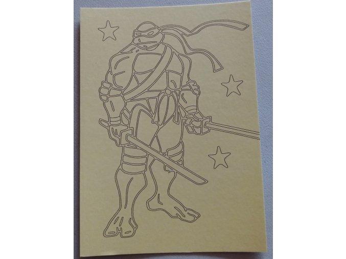 Šablona Želvy Ninja 4