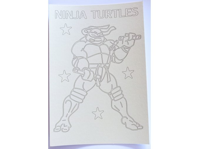 Šablona Želvy Ninja 6