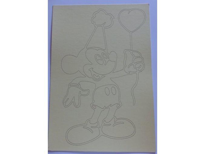Šablona Mickey Mouse 6