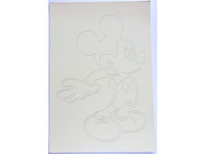 Šablona Mickey Mouse 8