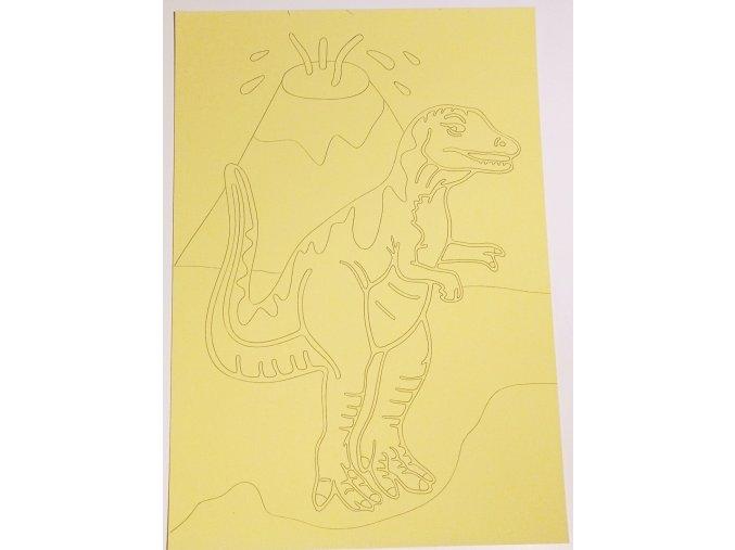 Šablona Dinosaurus T-Rex