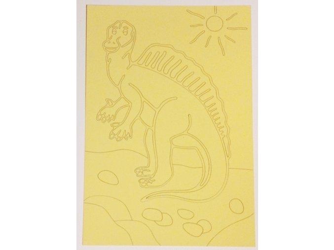 Šablona Dinosaurus Spinosaurus