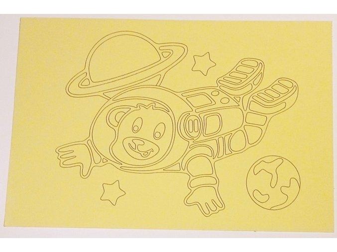 Šablona Kosmonaut