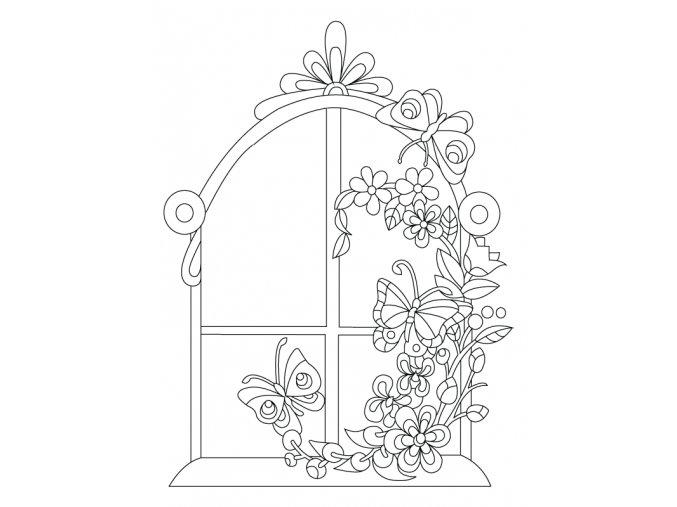 Rozkvetlé okno