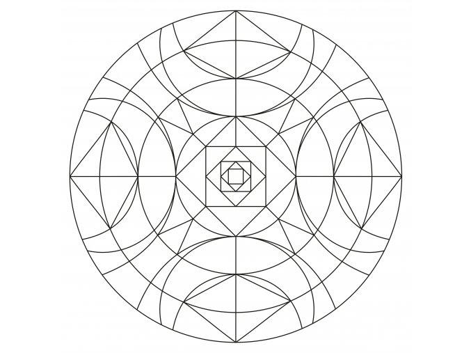 Šablona Mandala 0501