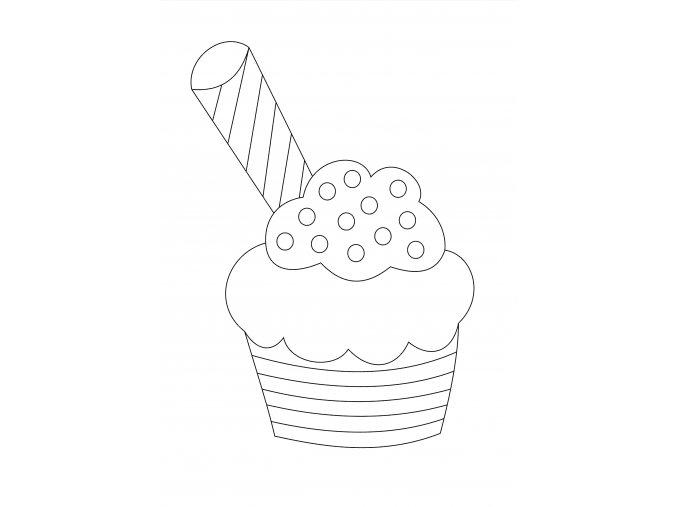 Šablona Muffin