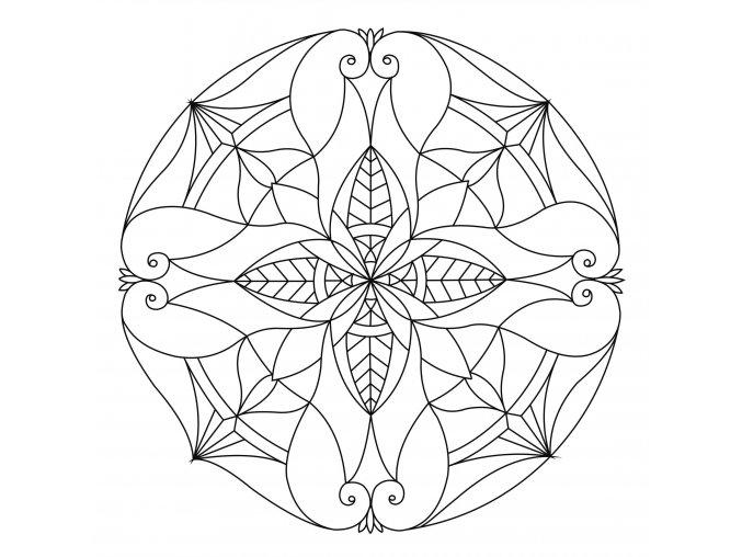 Šablona Mandala 0108