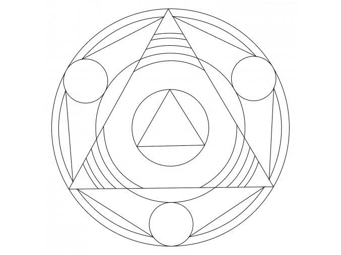 Šablona Mandala 0503
