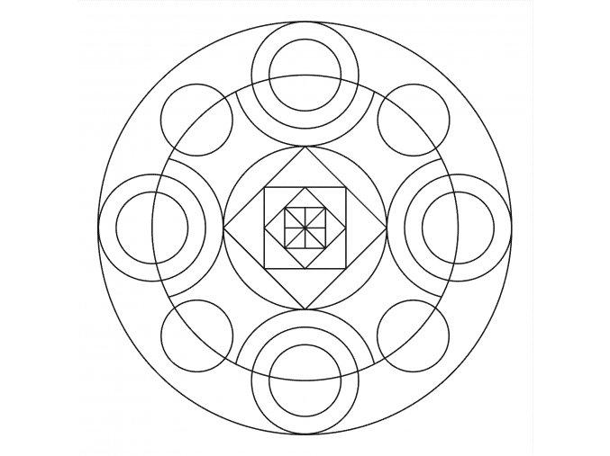 Šablona Mandala 0513