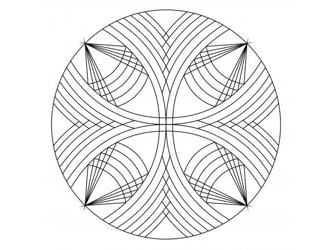 Šablona Mandala 0516