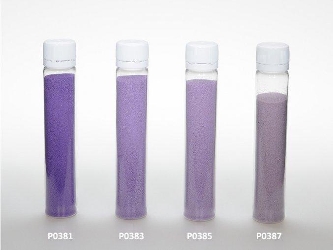 Barevný písek - fialová barva