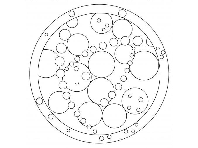 Šablona Mandala 0525
