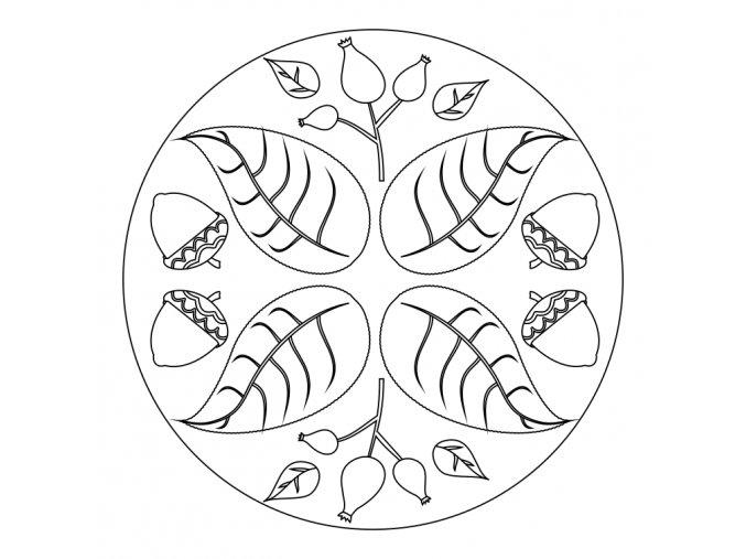 Podzimní mandalka