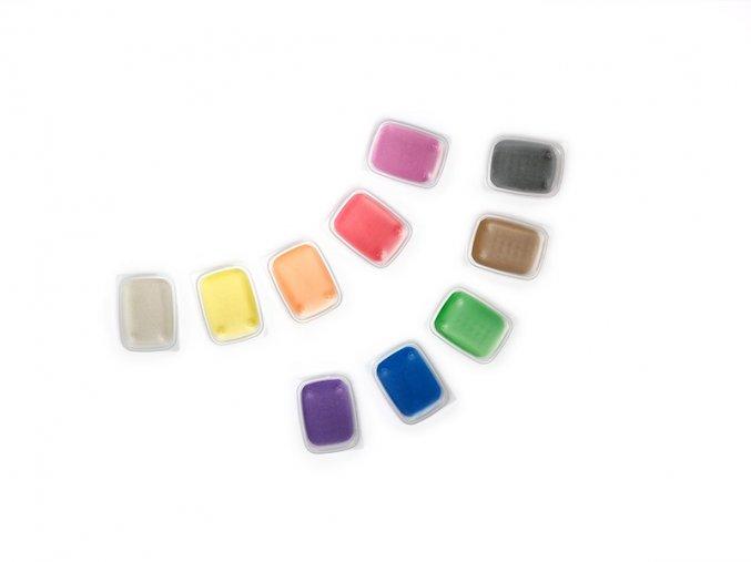 Sada barevného písku 10 ks