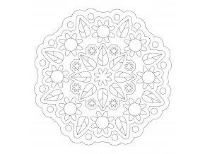 Šablona Mandala 0529