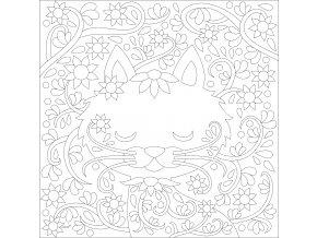 Šablona Koťátko