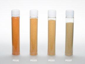 Barevný písek - oranžová barva