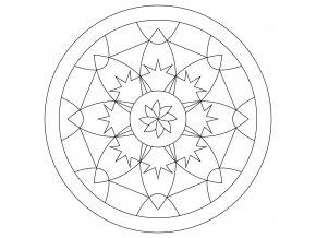 Šablona Mandala 0426