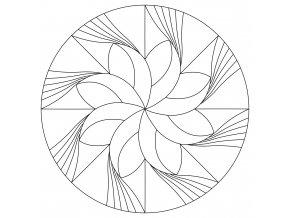 Šablona Mandala 0427