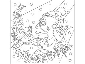 Šablona Zimní Víla