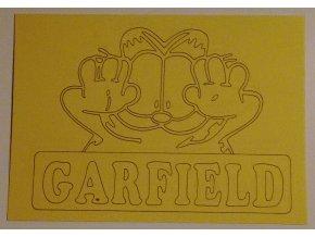 Šablona Garfield 2