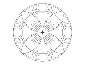 Šablona Mandala 0430