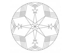 Šablona Mandala 0433