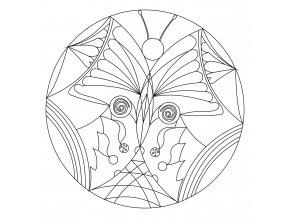 Šablona Mandala 0436