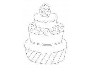 Patrový dortík