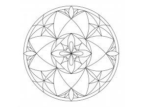 Šablona Mandala 0102