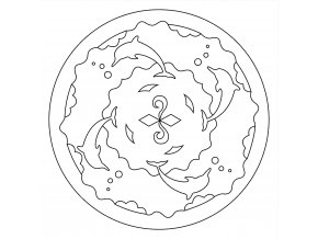 Šablona Mandala 0507